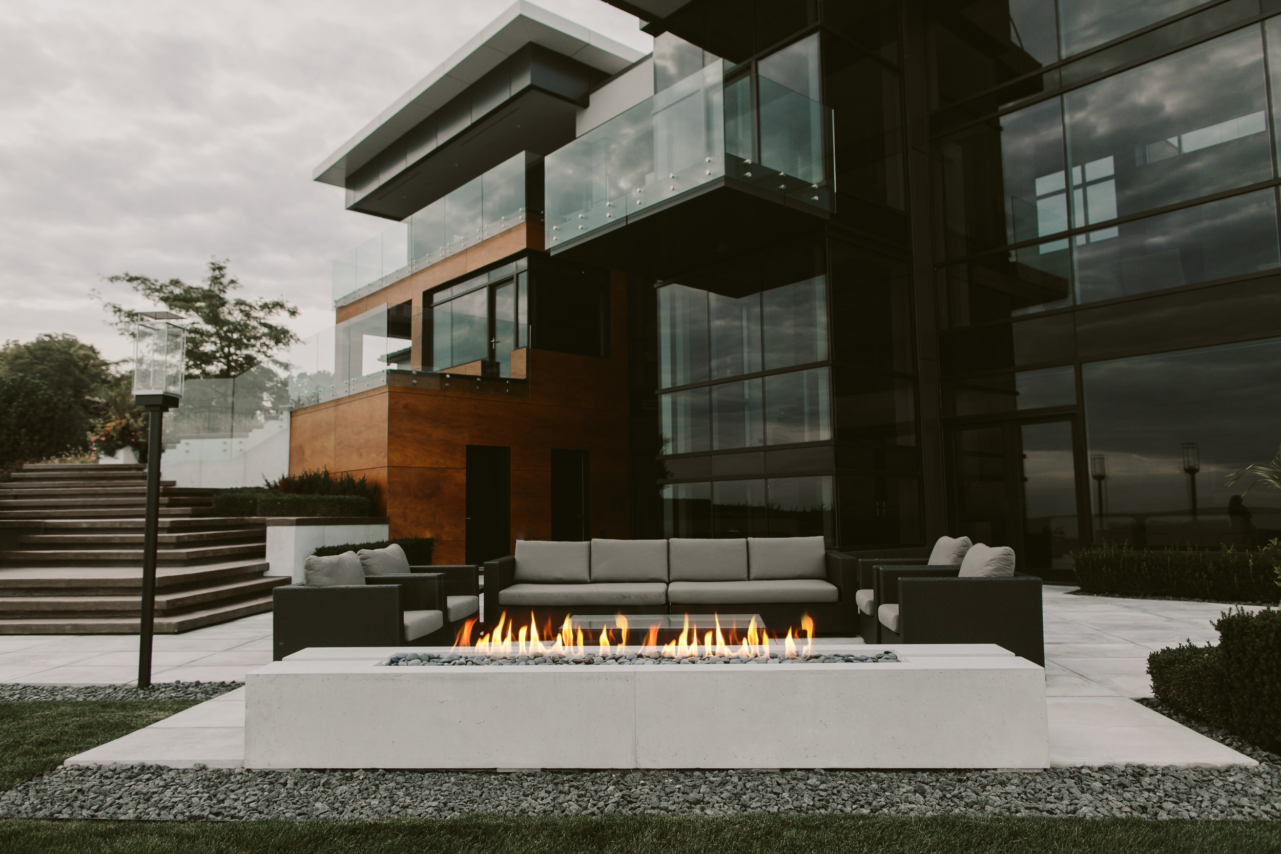 Lightweight Concrete Fire Pit Benefits
